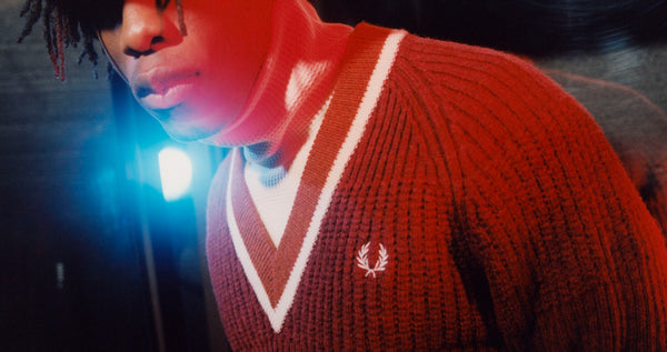 fred perry x nicholas daley editorial banner