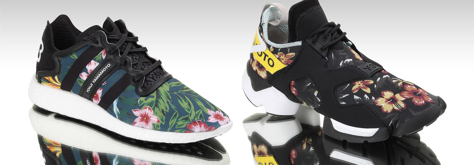 Y-3 Floral Yohji Boost and Kohna Now Available Online