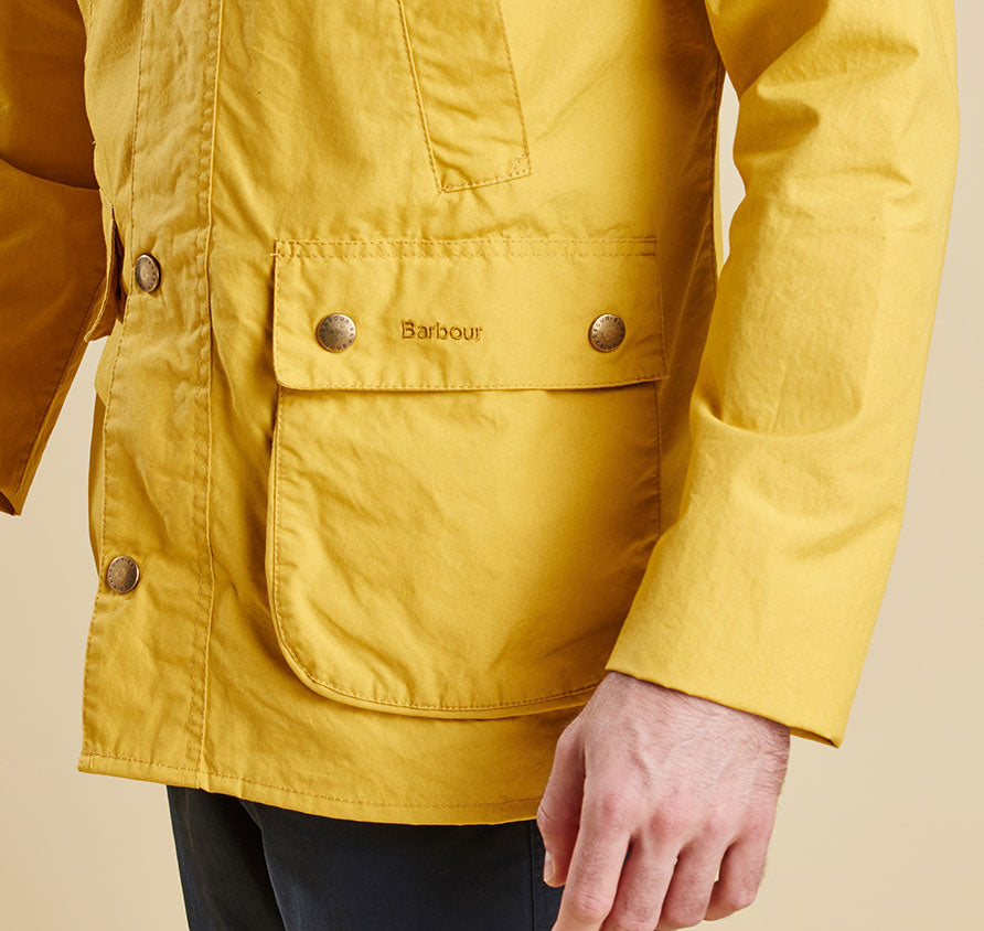 Barbour Washed Bedale - Yellow