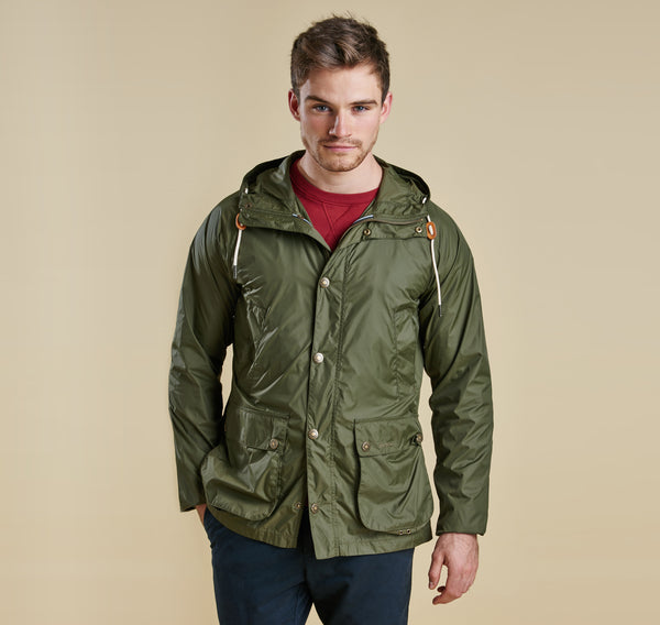 Barbour Hooded Bedale - Fern
