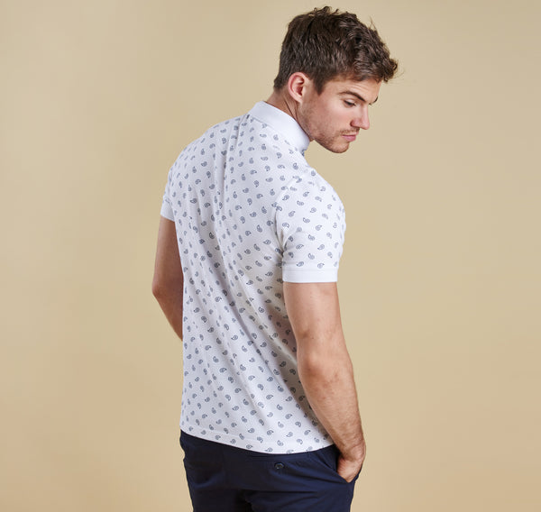Barbour Oliver Polo - White