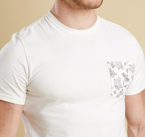 Barbour Major Tee - Whisper White