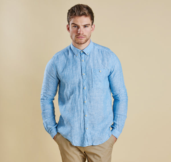 Barbour Edward Linen Shirt