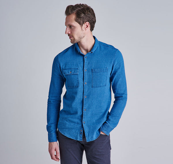 Barbour Samuel Shirt - Indigo