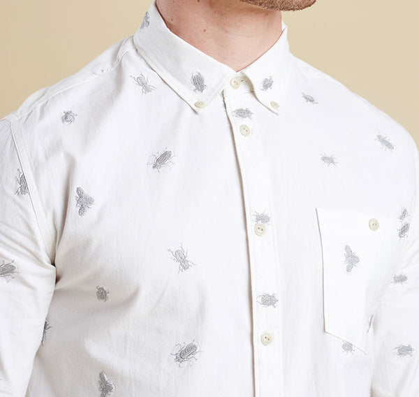 Barbour Benjamin Shirt - Pearl