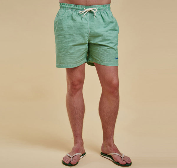 Barbour Striped Shorts - Green