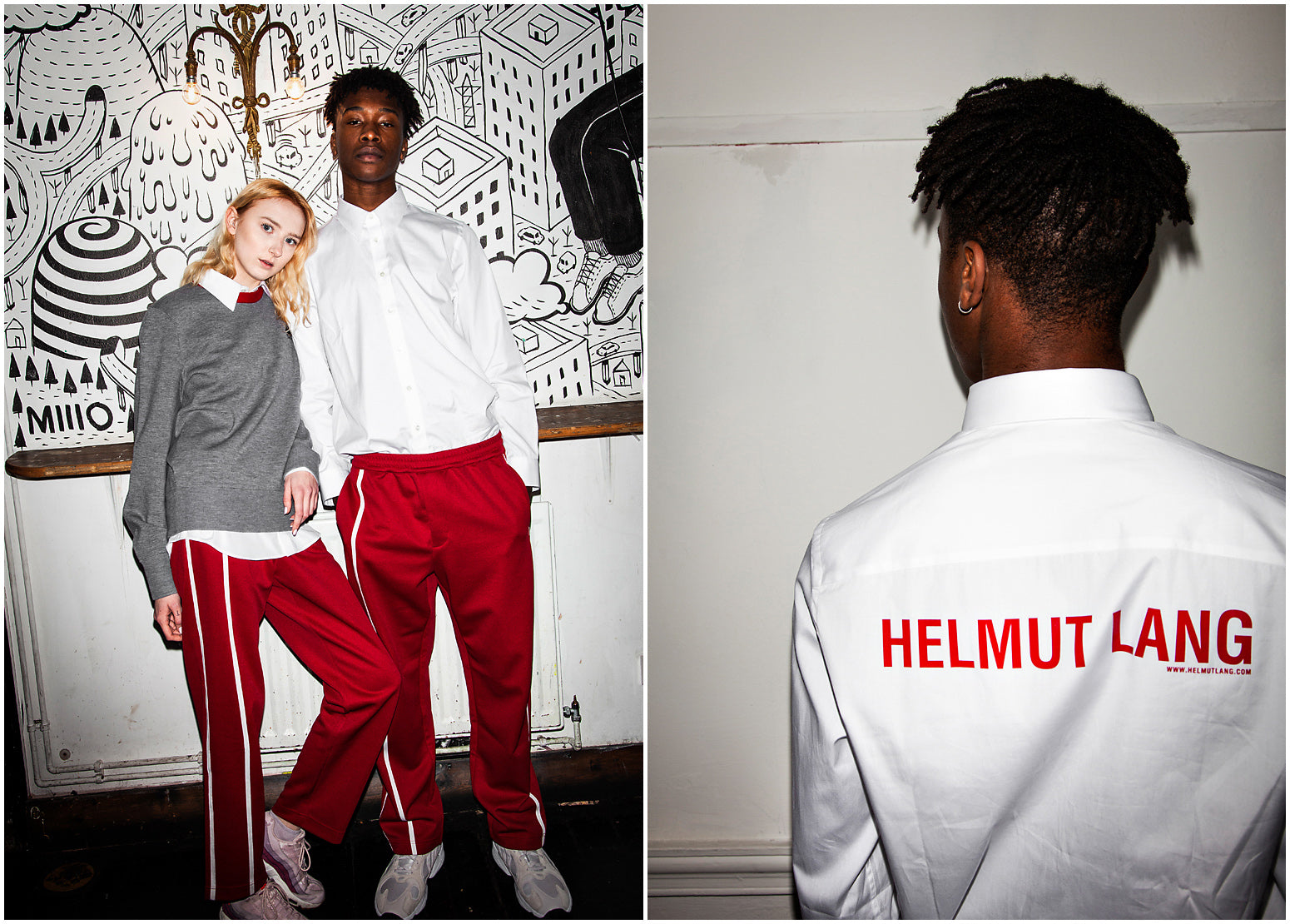 9aeb1c8a4f0 Shop the SS19 Helmut Lang collection here.