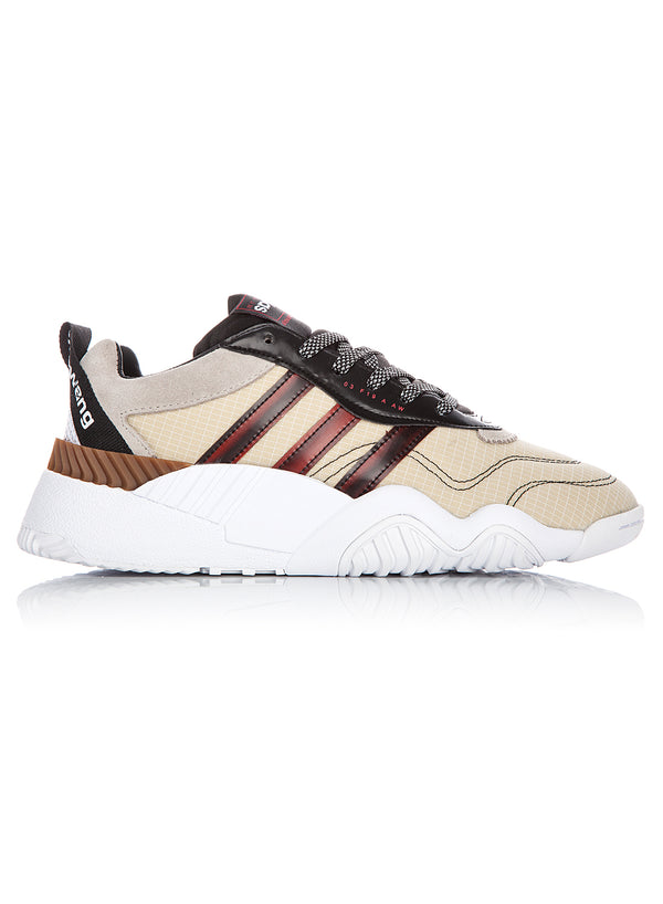 adidas by alexander wang aw turnout trainer black light brown bright red ss 2020