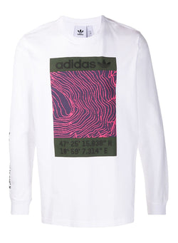 adidas originals adv long sleeve tee white aw 2020