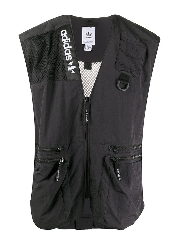 adidas originals adv trail vest black aw 2020