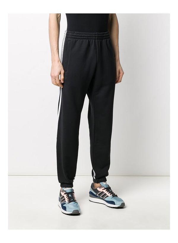 3 Stripe Wrap Sweat Trackpant - BLACK/WHITE
