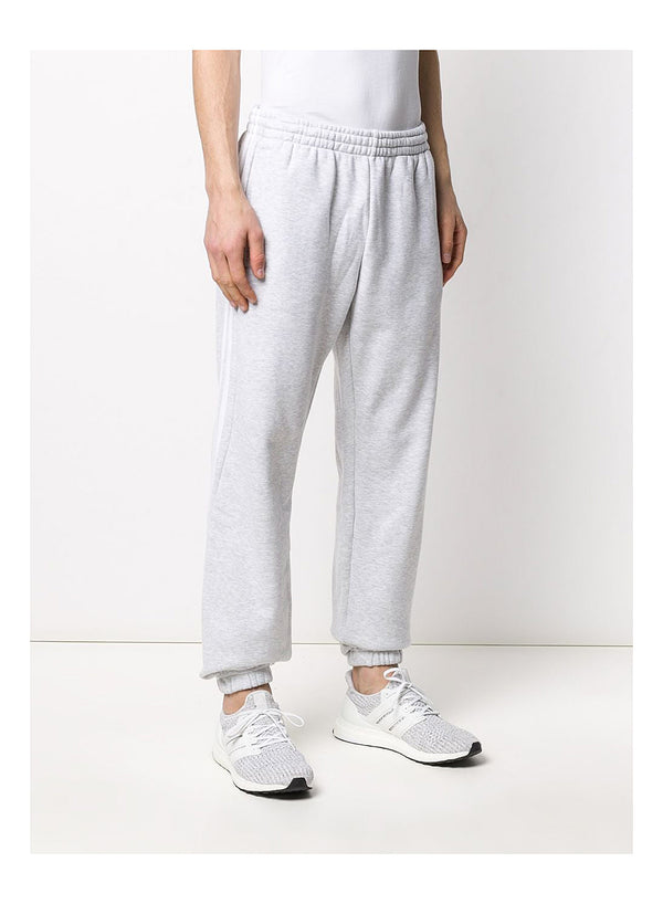 3 Stripe Wrap Sweat Trackpant - LGREY/WHITE