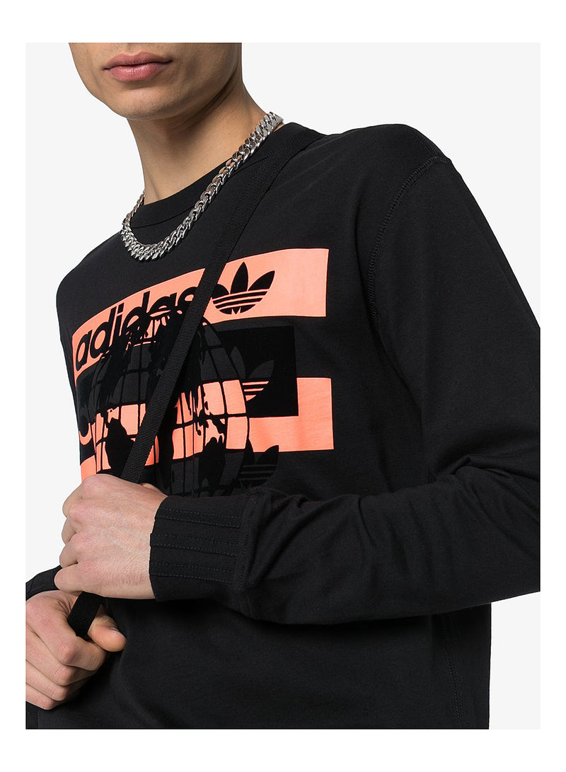 R.V.Y. Long Sleeve Tee - BLACK