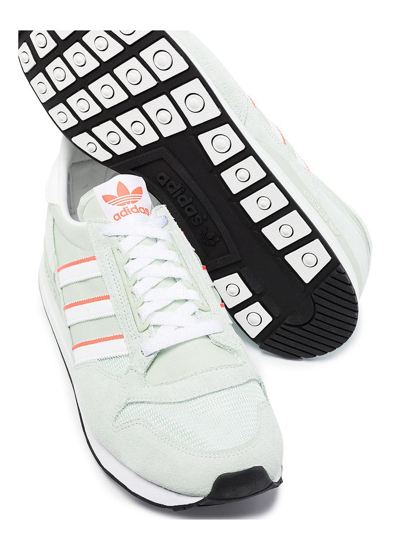 ZX 500 Trainers - DSHGRN/SOLRED/CBLACK