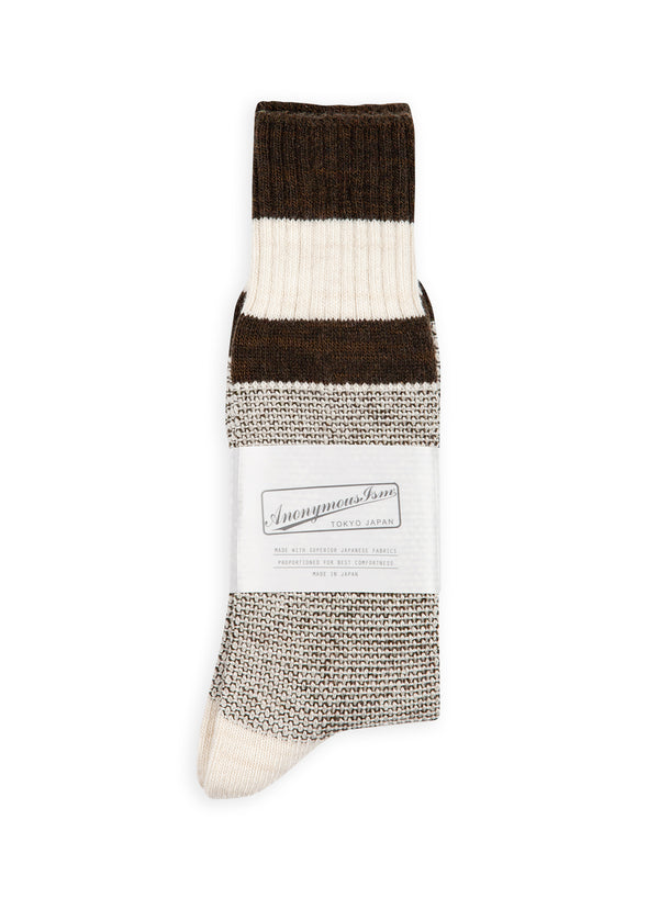 anonymous ism moss stitch jq sock green white aw 2020