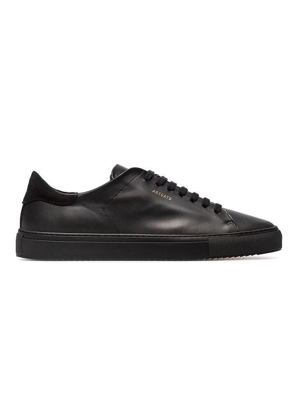 Clean 90 Leather Trainer - Black