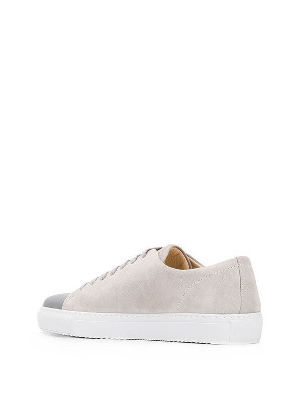 Cap-Toe Trainer - Light Grey