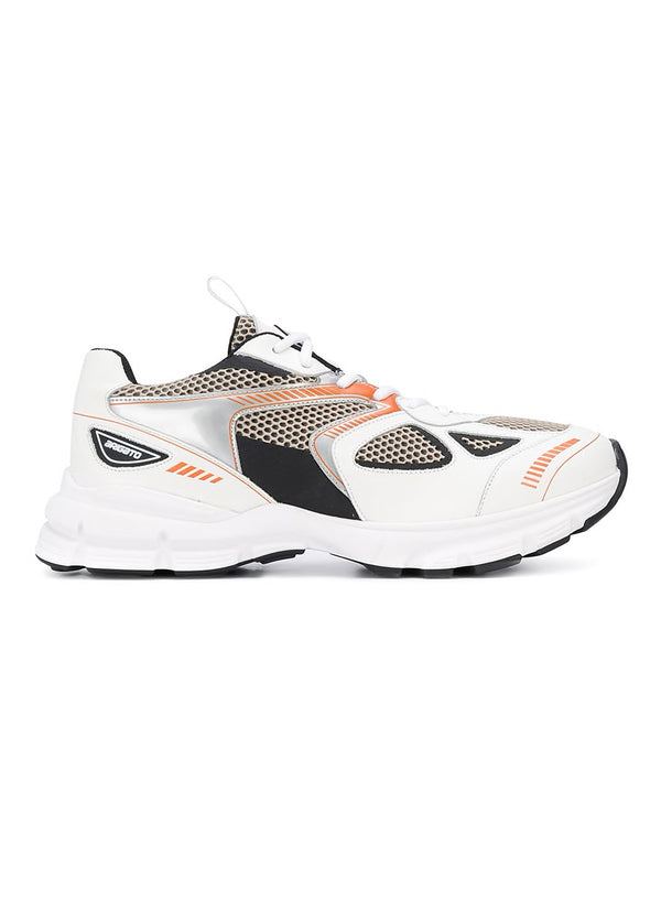 axel arigato marathon trainer white black orange ss 2020