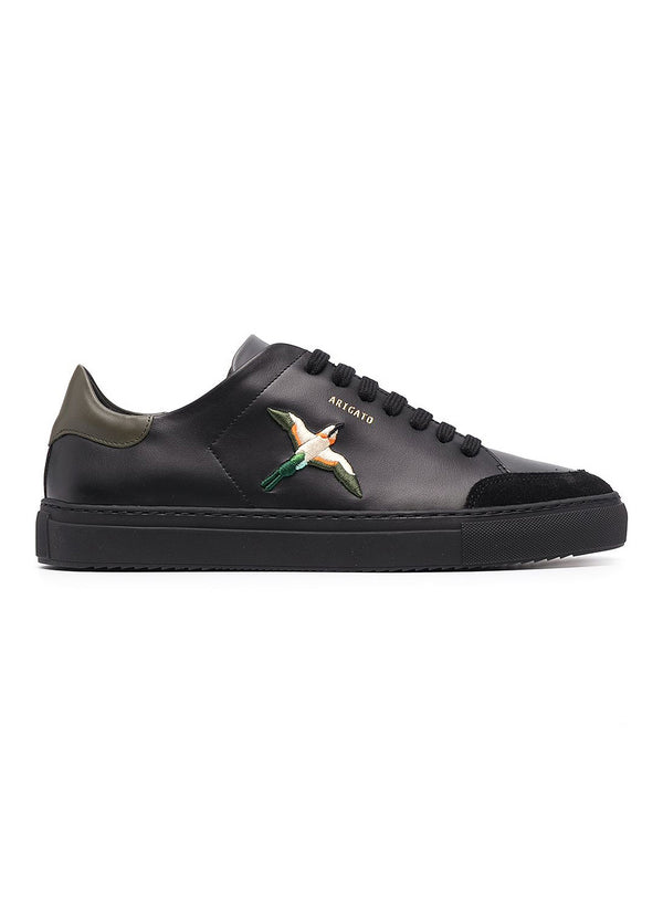 axel arigato clean 90 bird trainer black army green ss 2021