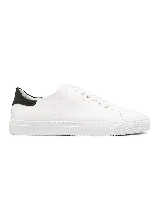 axel arigato clean 90 contrast trainer white black ss 2021