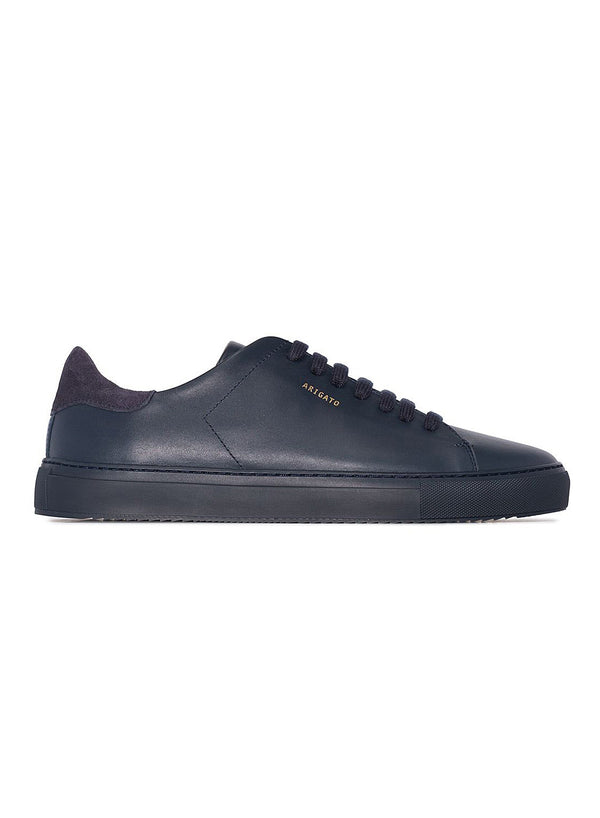 axel arigato clean 90 leather trainer navy aw 2020