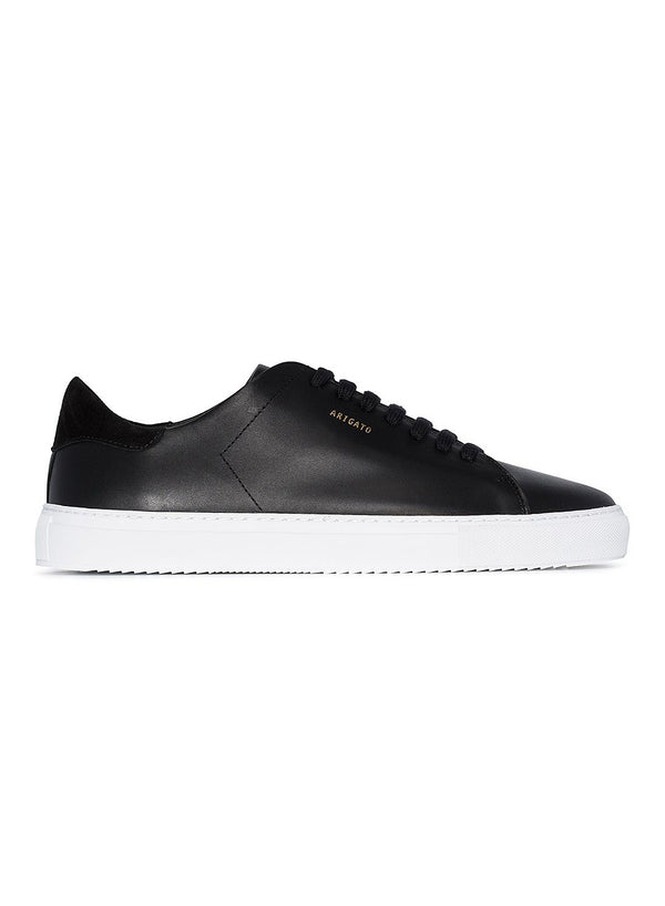 axel arigato clean 90 trainer black white ss 2021