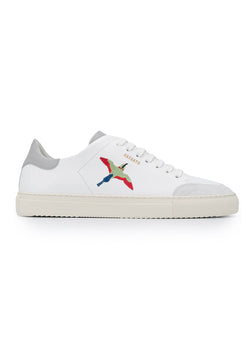axel arigato clean 90 triple bird trainer white grey aw 2020