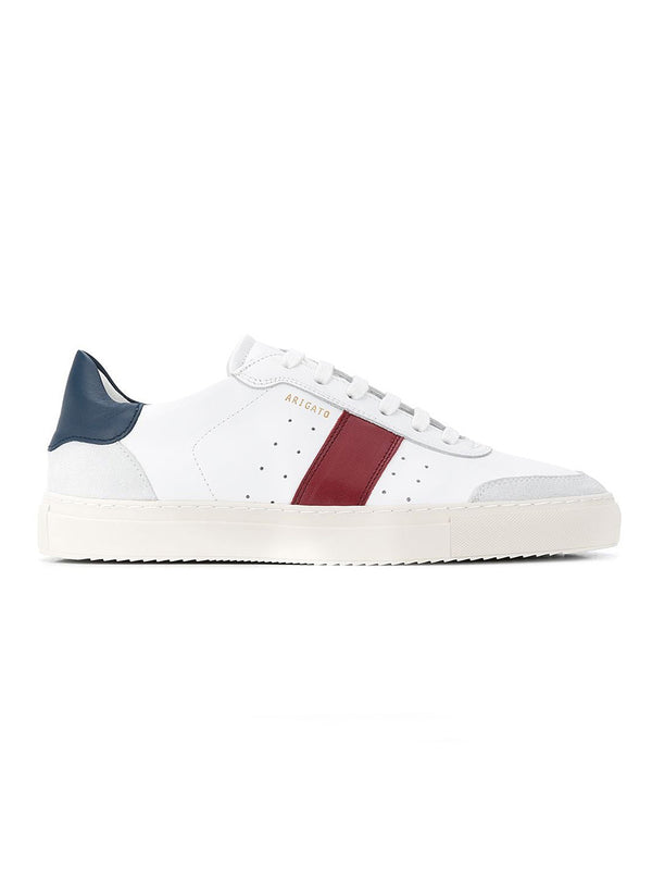 axel arigato dunk v2 trainer white navy red ss 2021