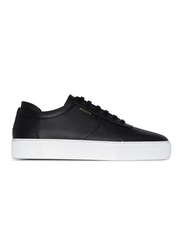 axel arigato platform trainer black leather aw 2020