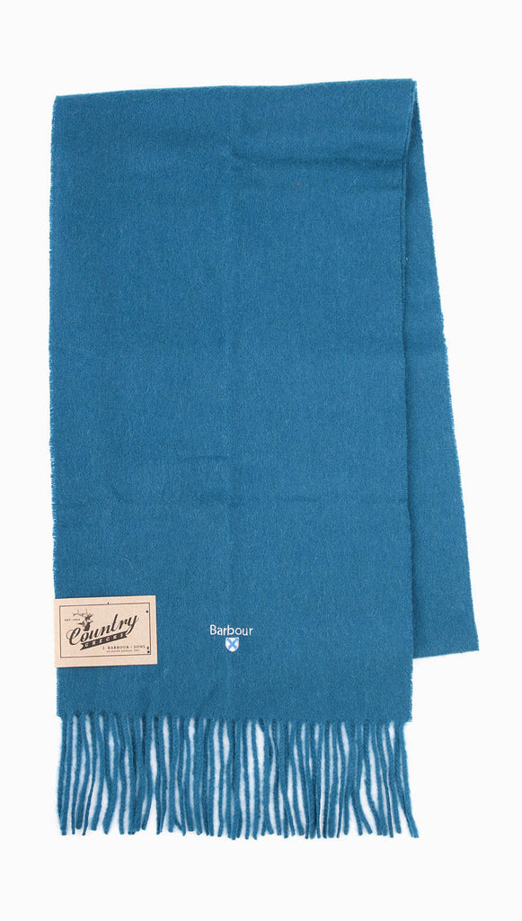 Barbour Plain Lambswool Scarf - TE11