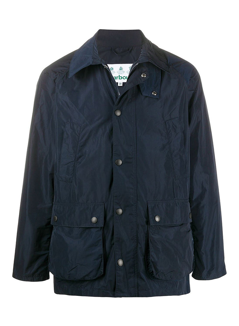 barbour bedale tech casual jacket navy ss 2020