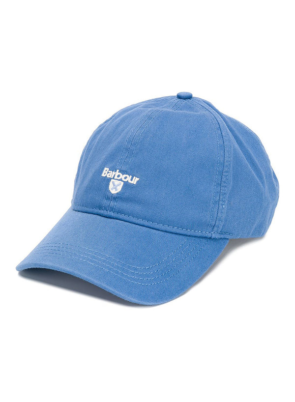 barbour cascade sports cap sea blue ss 2020