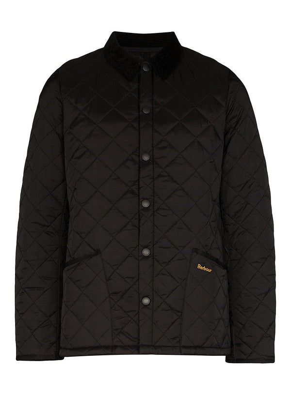 barbour heritage liddesdale black aw 2020
