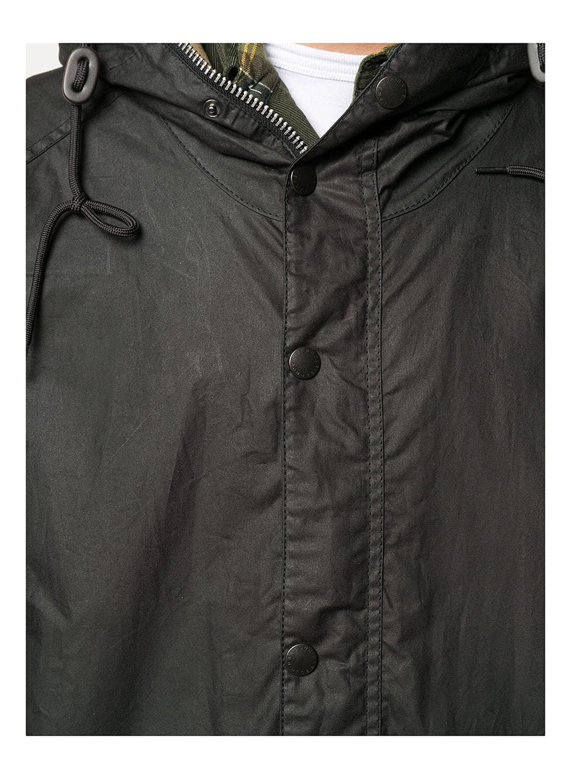 Hiking Wax Jacket - Black