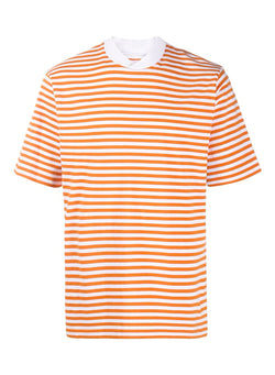barbour inver stripe tee burnt orange ss 2020