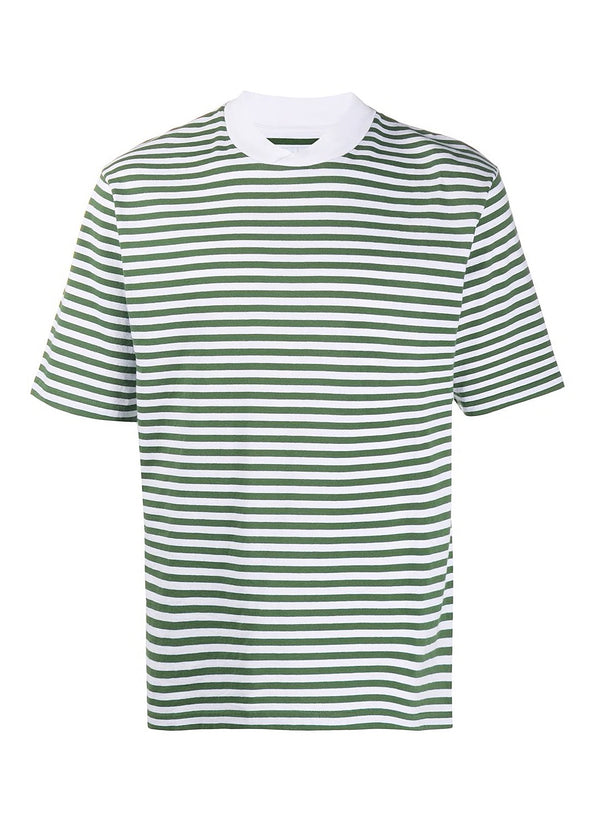 barbour inver stripe tee hedge green ss 2020