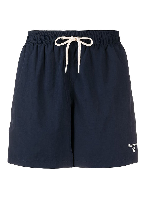 barbour logo 5 swim navy ss 2020