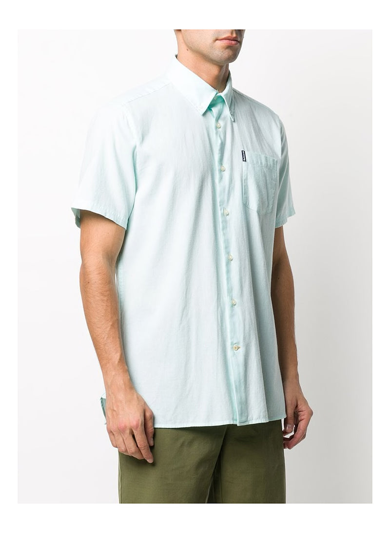 Oxford 9 S/S TF Shirt - Mint Green