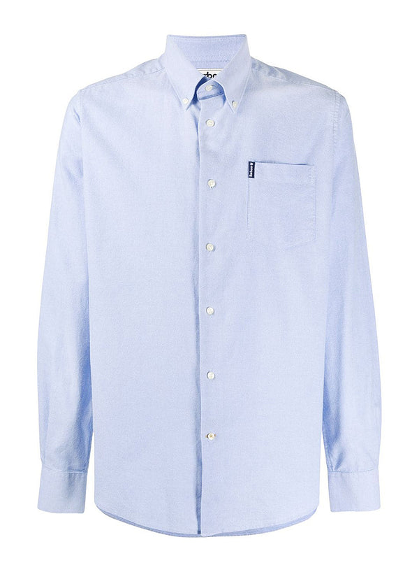 barbour oxford tf 8 shirt blue ss 2020