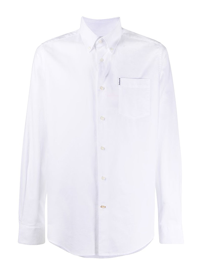 barbour oxford tf 8 shirt white ss 2020