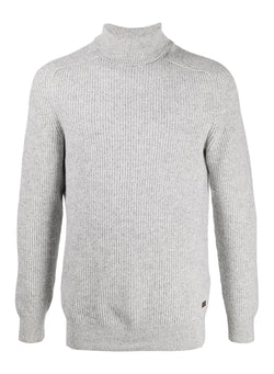 barbour roll neck knit jumper ecru aw 2020