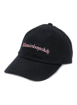 billionaire boys club embroidered wool cap black ss 2020