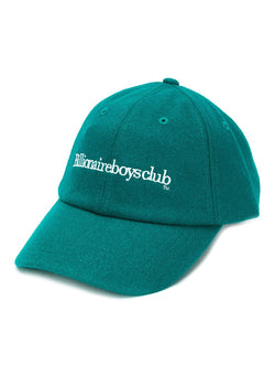billionaire boys club embroidered wool cap green ss 2020