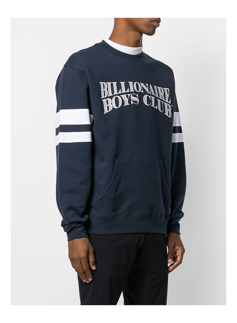 Pouch Pocket Crewneck Sweatshirt - Navy