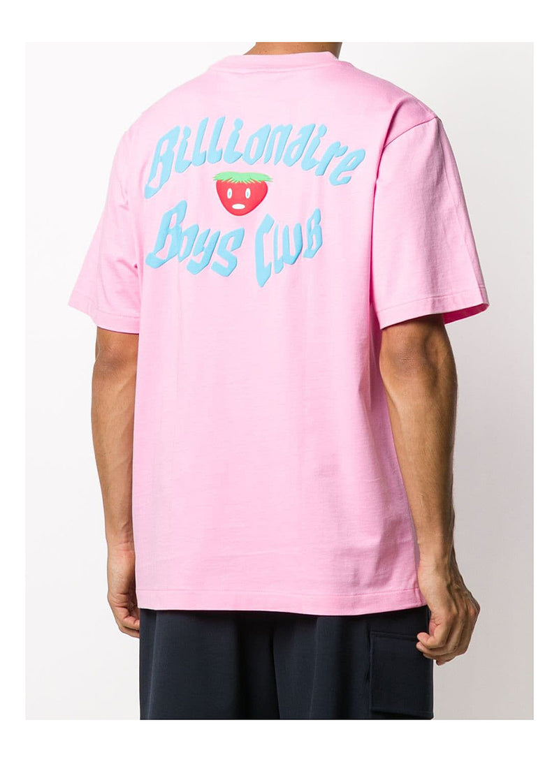 Apple Logo Tee - Pink