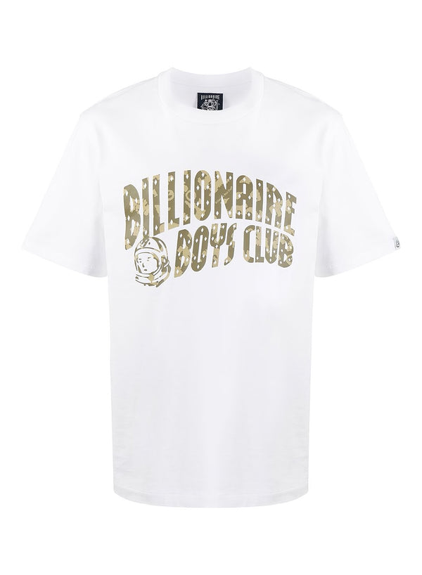billionaire boys club arch logo tee white ss 2021