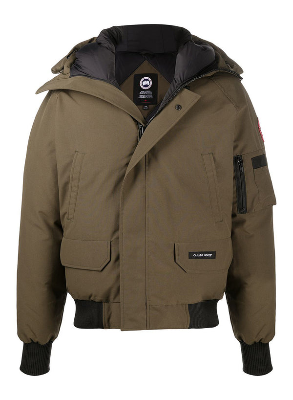 canada goose chilliwack bomber jacket green aw 2020