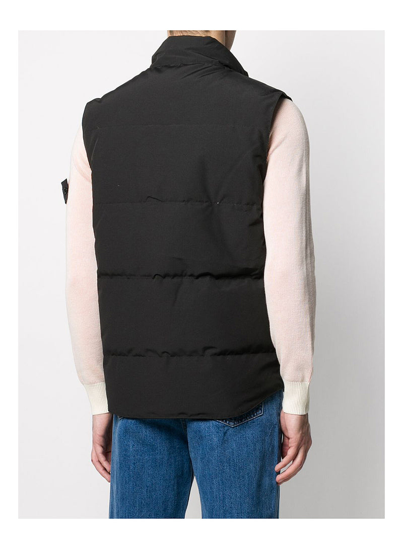 Freestyle Crew Vest - Black