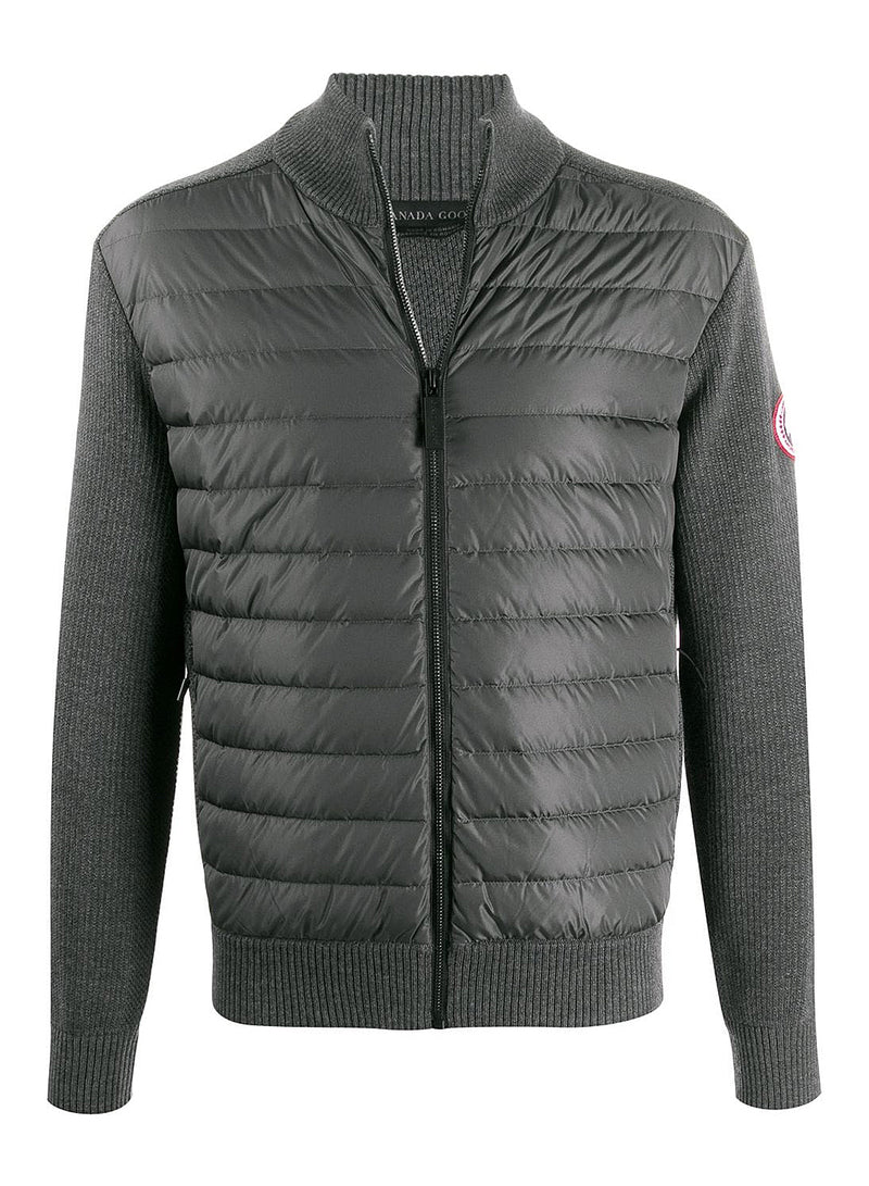 canada goose hybridge knit jacket iron grey aw 2020