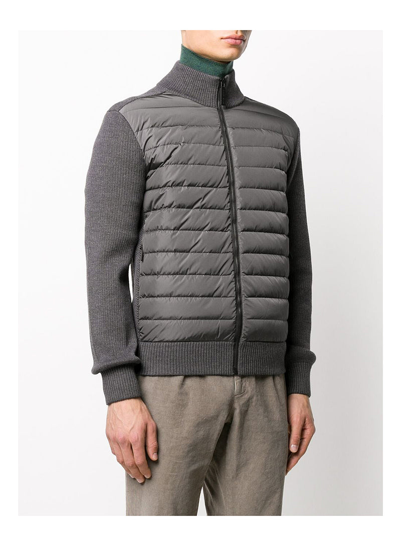 Hybridge Knit Jacket - Iron Grey